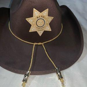 Halloween cowboy hat the walking dead